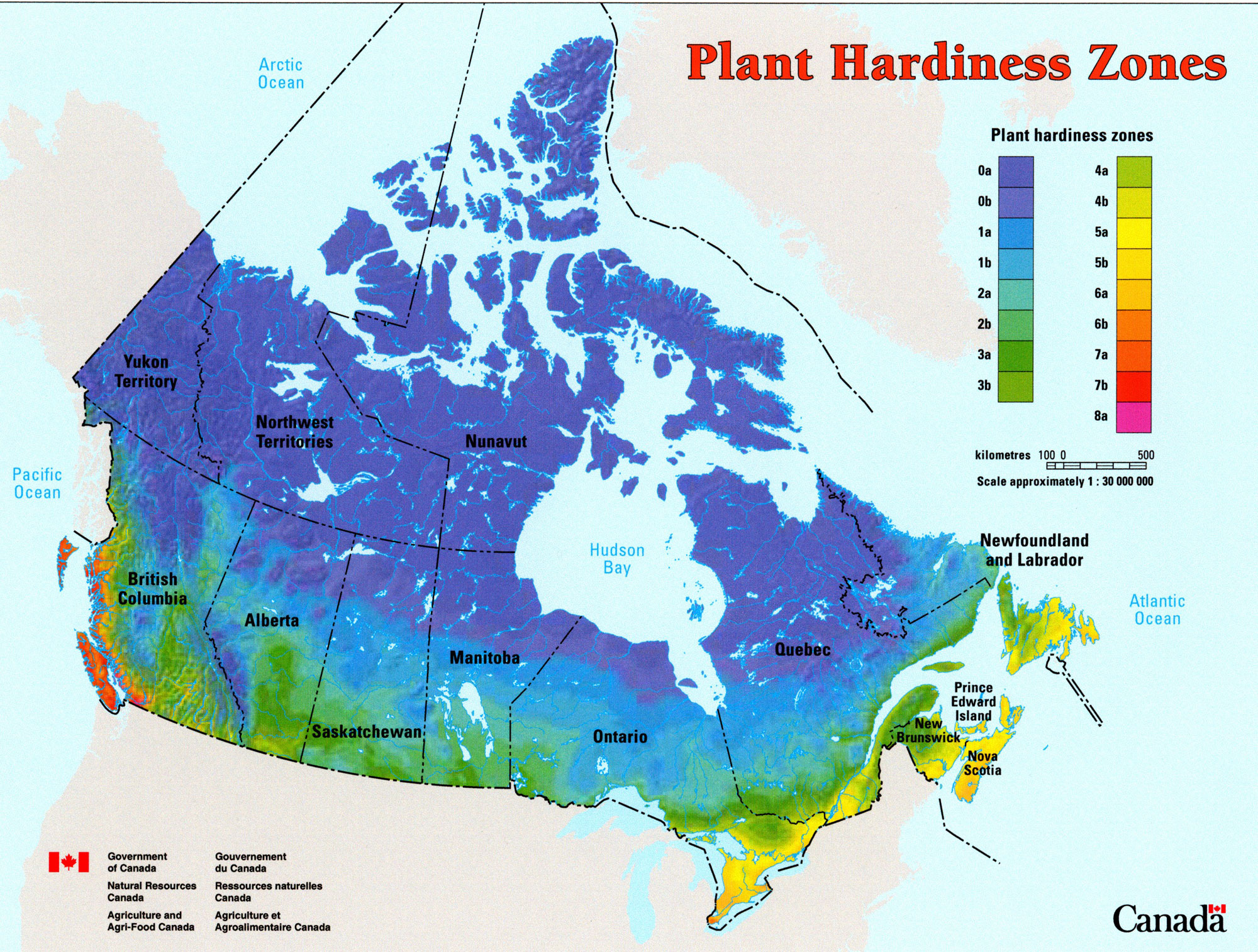 Canada Hardiness Ref World Plants